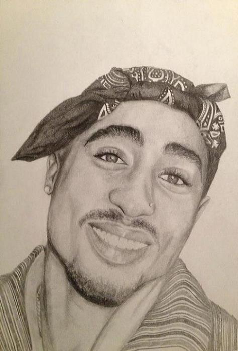 Tupac by Luke88
